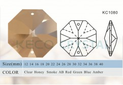 crystal chandelier parts,Bilateral Octagon crystal-(KC1080)