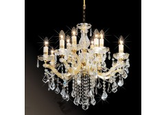 Arm crystal chandelier