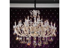 Arm chandelier lighting