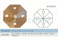 octagon shape of crystal beads for crystal lamps-(KC1051D)