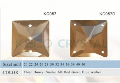 facets square beads chandelier parts for lamps-(KC057)