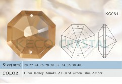 diamond shape crystals for chandeliers-(KC061)