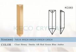 sharp crystal prism for chandelier-(KC083)