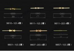 Brass bow tie hanger