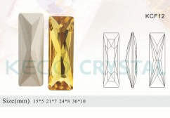 crystal stone for shoes-(KCF12)