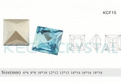 square glass fancy stone-(KCF15)