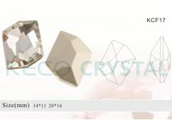 jewelry crystal beads-(KCF17)