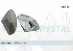 fancy stone bead-(KCF18)