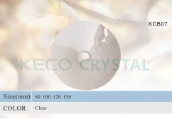 32 facets crystal bobeches-(KCB51)