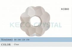hand made crystal bobeche-(KCB60)