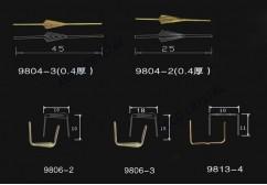 Strass hanger clips