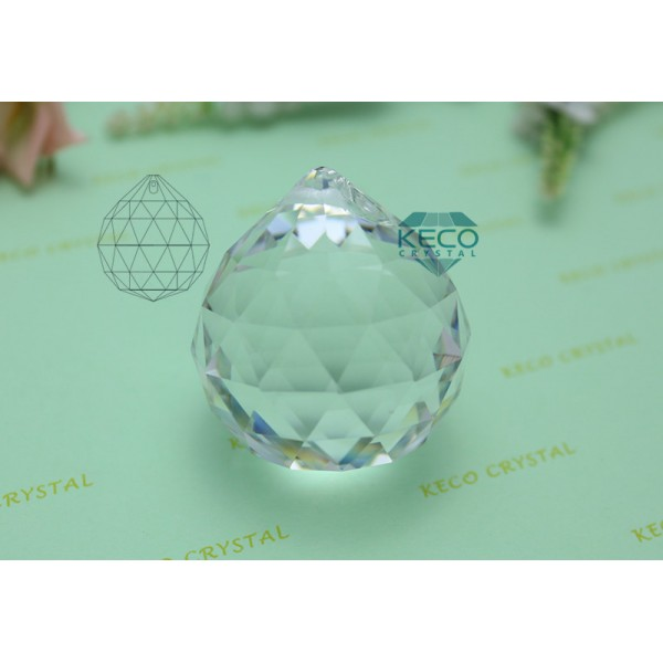 K9 Facet Crystal Ball For Chandelier Kc701